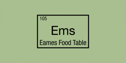 Eames Food Table